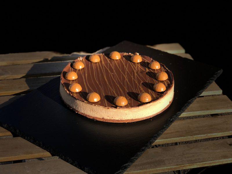Cheesecake med toffifee