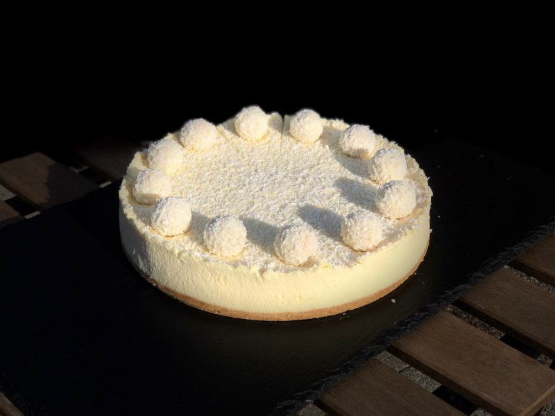 Cheesecake med rafaello